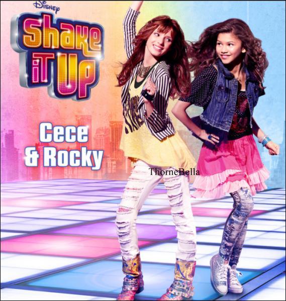 A quel genre d'émission participent les héroïnes de  Shake It Up  ?