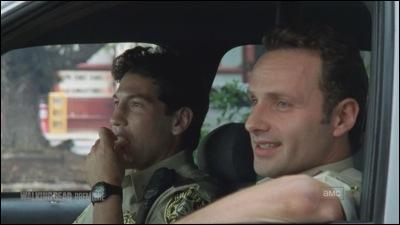 EP1. Lorsque Rick et Shane sont dans la voiture de police au tout début, que dit Shane pour réconforter Rick au sujet de Lori ?