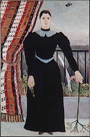'Portrait de femme' est conservé au Louvre, cette oeuvre de Rousseau a été donnée par ...