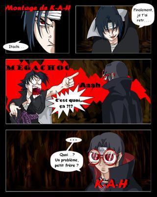 Pourquoi Sasuke hurle-t-il ?