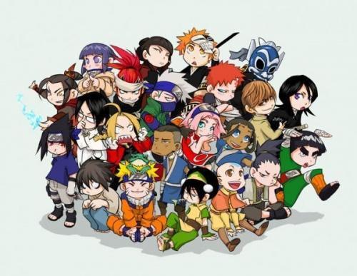 Personnages d''animes' et de mangas