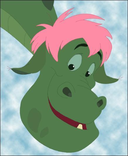 Dans quel Disney peut-on voir ce dragon ?