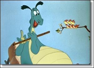 Ce drôle de dragon ne crache pas de feu et ne veux pas se battre. Dans quel Disney le retrouve-t-on ?