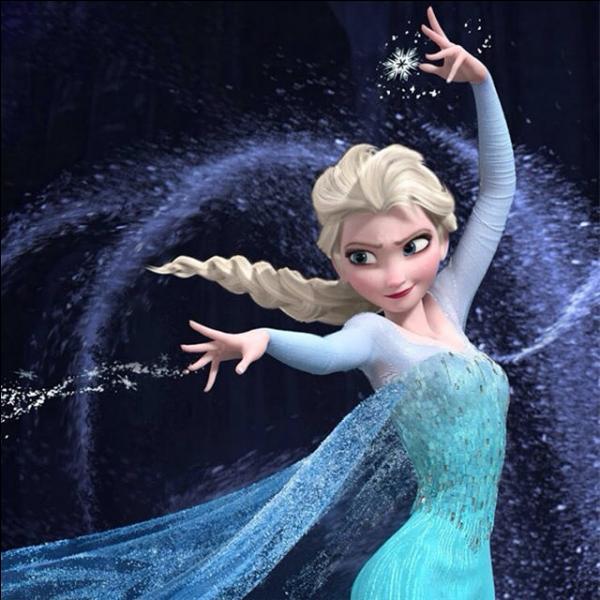 Comment s'appelle cette jeune fille qui possède un puissant pouvoir : celui de contrôler la neige et la glace ?