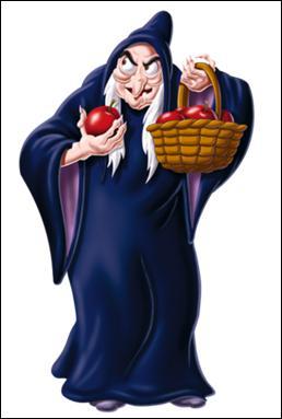 Qui se cache en réalité sous les traits de cette sorcière ?