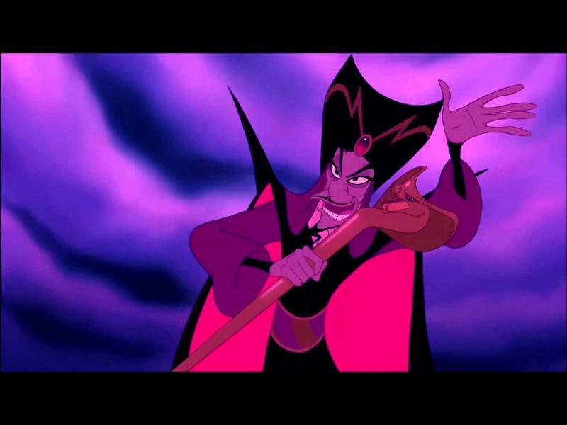 Dans Aladdin, ce vizir deviendra un sorcier puis un génie, comment se nomme-t-il ?