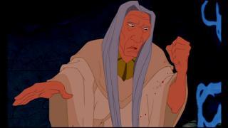 Comment s'appelle le sorcier shaman dans Pocahontas ?