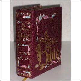 Dans quel livre de la Bible trouve-t-on la description précise de l'Arche d'alliance ?