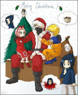 Que veut Sasuke pour Noël ?