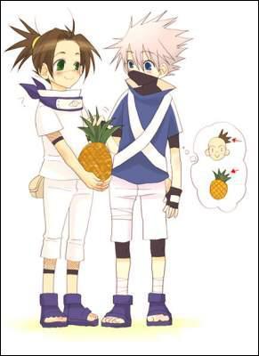 Pour qui Kakashi prend-il Iruka ?