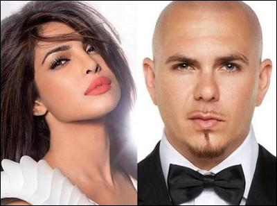Pitbull, c'est bien simple, on le voit partout, il chante même avec une actrice indienne, par Vishnou, il est multi-fonctions, trouvez le titre de cette chanson !