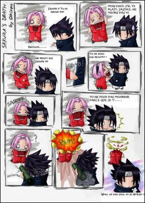 Comment Sasuke s'est-il débarrassé de Sakura ?