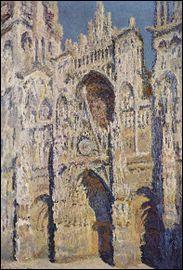 Qui a peint la cathédrale de Rouen ?