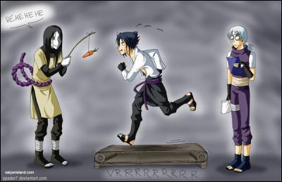Comment Orochimaru entraîne-t-il Sasuke ?
