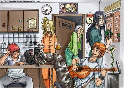 Qui est le seul en pleine forme à jouer de la guitare dès le matin ?