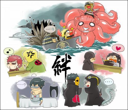 Que fait Sasuke ?