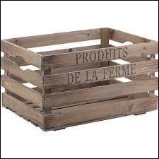 Qui monte sur une caisse en bois pour atteindre son image ?
