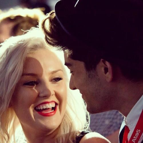 Le couple Zerrie