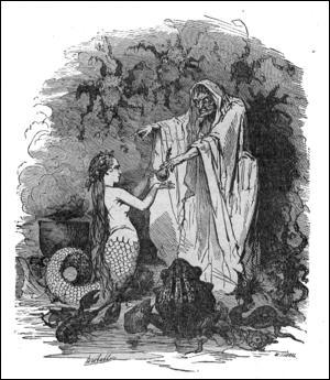 Qui a écrit le conte de  La Petite Sirène  ?