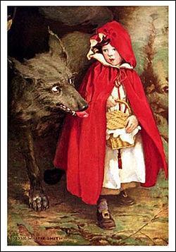 Qui a publié la première fois le conte  Le Petit Chaperon rouge  ?