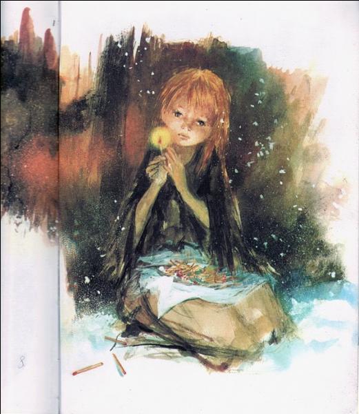 Qui est l'auteur de  La Petite Fille aux allumettes  ?