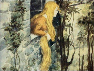 Qui a figuré le conte Raiponce dans un recueil ?