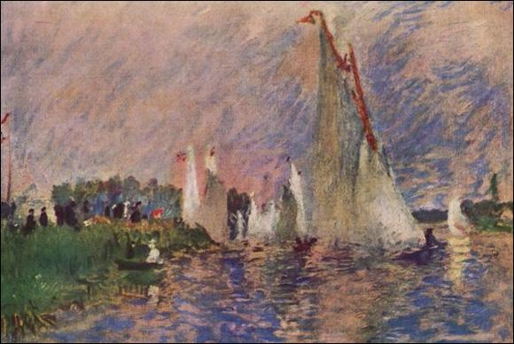 ... Argenteuil  est un très beau tableau de Renoir. Cochez la partie manquante du titre !