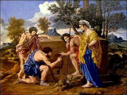 Nicolas Poussin a peint  ... Arcadie . Quel morceau du titre manque-t-il ?