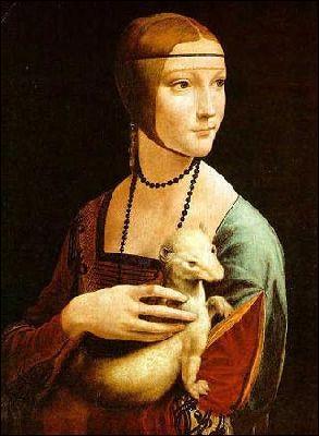 Complétez le trou du titre de ce tableau de Léonard de Vinci :  ... hermine  !