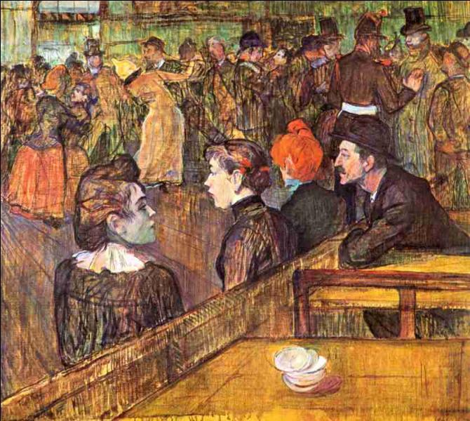 ... Galette  est un célèbre tableau de Toulouse-Lautrec. Cochez la partie manquante du titre !
