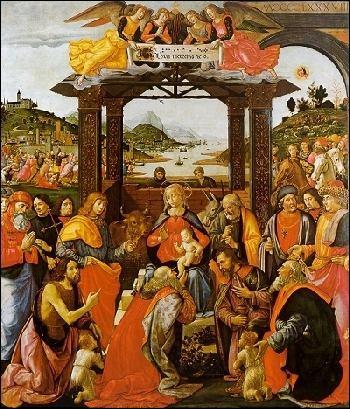 ... mages  est un célèbre tableau de Ghirlandaio. Cochez la partie du titre manquante !