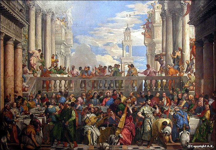 Complétez le trou du titre de ce tableau de Véronèse :  ... Cana  !