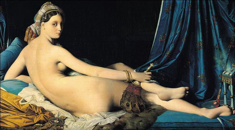 Complétez le trou du titre de ce tableau d'Ingres :  ... odalisque  !
