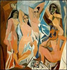 ... d'Avignon  est un célèbre tableau de Picasso. Cochez la partie manquante du titre !