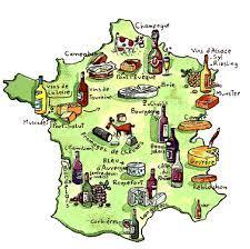 Gastronomie des villes françaises