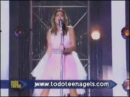 Quelle chanson Martina préfère-t-elle dans  Violetta  ?
