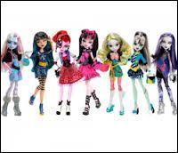 Quelle est la Monster High ne faisant pas partie de la 1re vague des Picture Day ?
