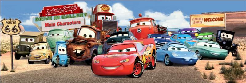 Dans  Cars , qui est le personnage principal ?