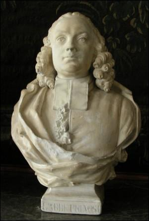 En 1763, l'Abbé Prévost, auteur de  Manon Lescaut , a droit, si l'on peut dire, à une mort plutôt contradictoire !