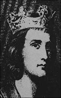 En 882, le bon roi Louis III fut bien puni, en coursant à cheval une demoiselle qui se refusait à lui ...