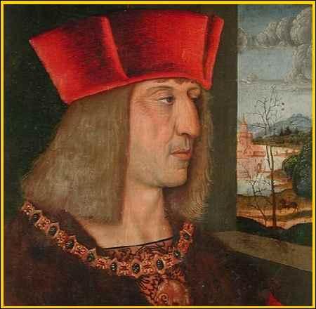 En 1519, Maximilien 1er de Hasbourg, bien décidé à ne pas mourir comme tout le monde, en épata plus d'un !