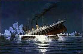 En quelle année a eu lieu de naufrage du Titanic ?