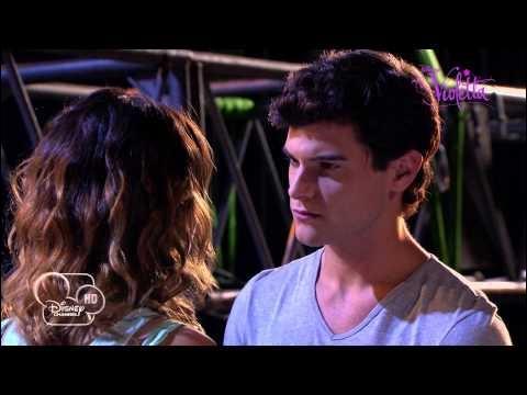 Que vont faire Diego et Violetta sur cette photo ?
