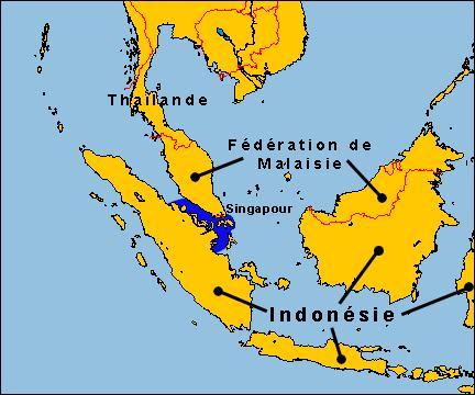 Quel détroit sépare t-il la Malaisie péninsulaire de l'île indonésienne de Sumatra, et ainsi l'Indonésie de l'Asie continentale ?