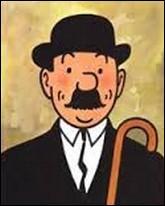 Fameux policier dans les aventures de Tintin. Qui est-ce sur la photo ?
