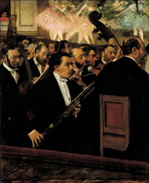 Comment s'appelle ce tableau exposé au musée d'Orsay à Paris ?