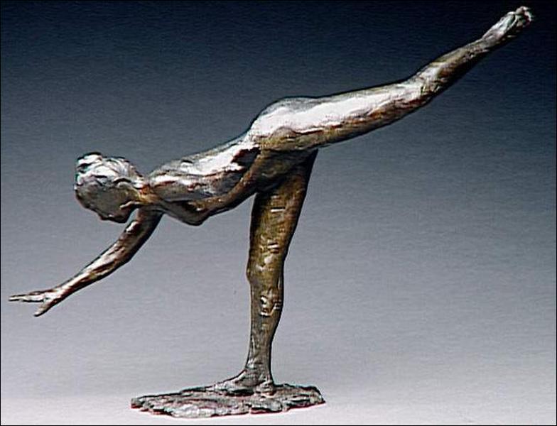 Degas s'adonna aussi à la sculpture, quelle est cette oeuvre visible au musée d'Orsay.