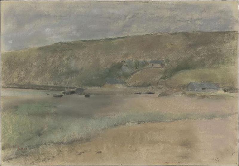 Quel est le titre de cette oeuvre, pastel exécuté en 1869 ?