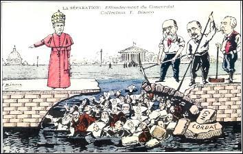 Loi de la séparation des Églises et de l'État :