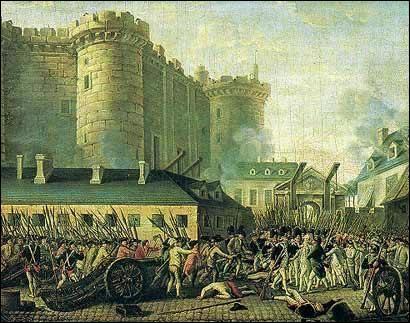 Prise de la Bastille :